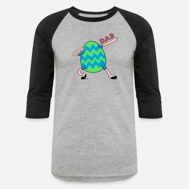 7ddf1b5a Girls Boy Easter Dabbing Easter Egg Shirt for Boys Girls Adults - Unisex  Baseball T-