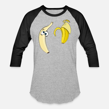 Strip Banana strip - Unisex Baseball T-Shirt