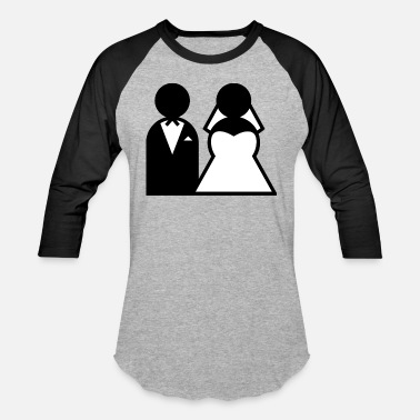 Wedding wedding - Unisex Baseball T-Shirt