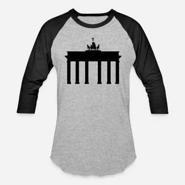 Brandenburger Gate Brandenburg Gate - Unisex Baseball T-Shirt