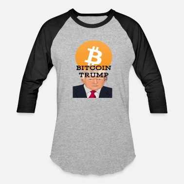 Bitcoin Bitcoin Trump - Baseball T-Shirt