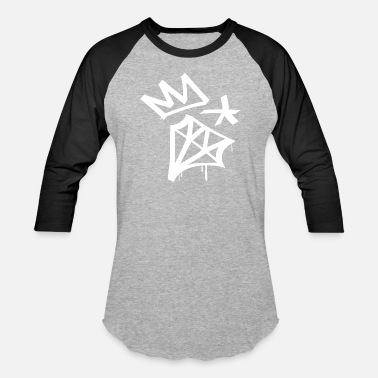 Diamond Star Diamond Crown Star - Baseball T-Shirt