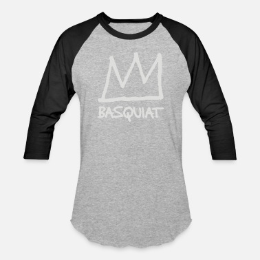 Jean Michel Basquiat Jean Michel Basquiat - Baseball T-Shirt