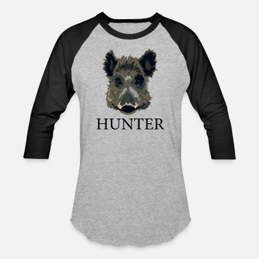 Boar Boar Hunter - Baseball T-Shirt