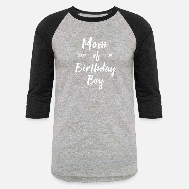 Mom Of Birthday Boy Shirt Unisex Baseball T