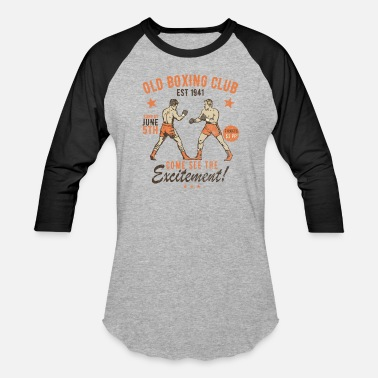 Old Fashioned Old Boxing Club - Baseball T-Shirt