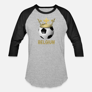 215987aa7 Soccer Belgium - Unisex Baseball T-Shirt