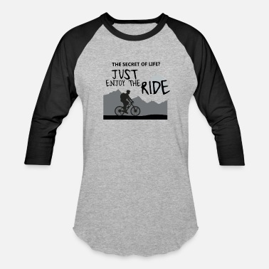 Work From Home the secret of life st enjoy the ride - Baseball T-Shirt