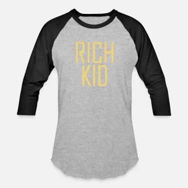 Billionaire Kids Rich Kid Rich Money Dollar Cash Hustle - Baseball T-Shirt