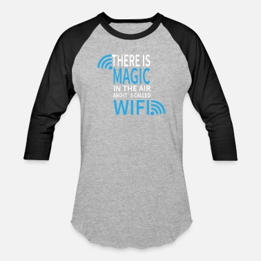 Wifi Magic Wifi - Baseball T-Shirt
