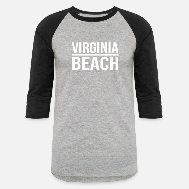 Beach T Shirts Virginia Shirt Uni Baseball Heather