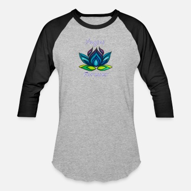 Yoga Studio BLY Yoga Studio Logo - Baseball T-Shirt