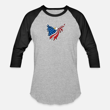 Bachelor Party Patriotic Patriotic Scout Freedom Eagle USA Gift Cool Symbol - Unisex Baseball T-Shirt