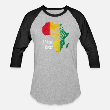 Inspiration Black History Month 2019 African Roots Gift - Baseball T-Shirt