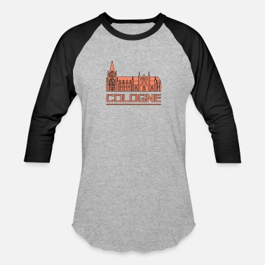 Cologne Cathedral Cologne Cathedral - Unisex Baseball T-Shirt