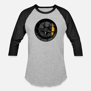 CALI GT3 WHEEL - Unisex Baseball T-Shirt