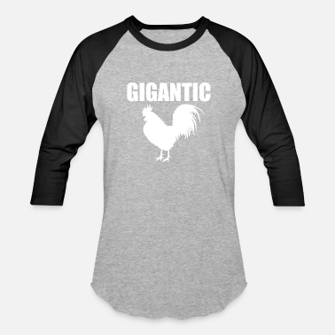 Dick Rooster Gigantic Cock Penis Adult Sex Rooster Dick Huge - Baseball T-Shirt