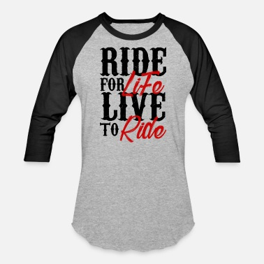 High Life Citations rider - Baseball T-Shirt
