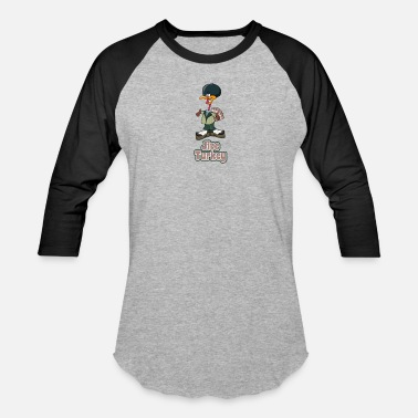 Jive Turkey Funny Thanksgiving Shirt Jive Turkey Shirt - Baseball T-Shirt