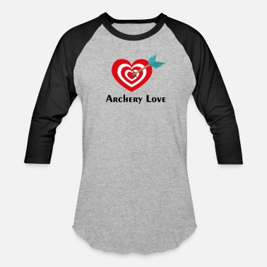 Love Archery Archery love - Baseball T-Shirt
