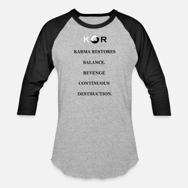 Destruction Balance & Destruction - Baseball T-Shirt