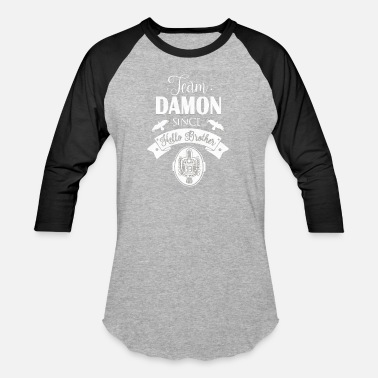 Vampire team damon - Unisex Baseball T-Shirt