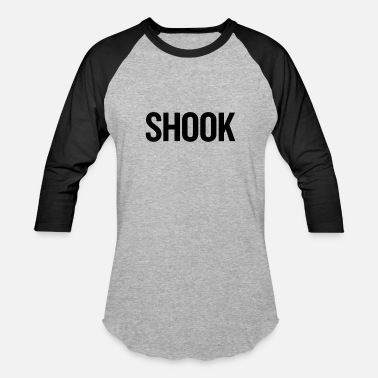 Shook Shook Black - Baseball T-Shirt