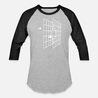 Millennium Falcon MILLENNIUM FALCON TARGET SCREEN - Baseball T-Shirt