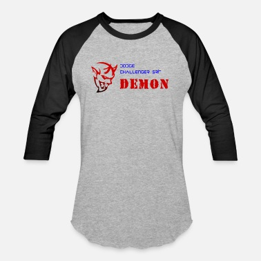 Dodge Srt DODGE CHALLENGER SRT DEMON - Baseball T-Shirt