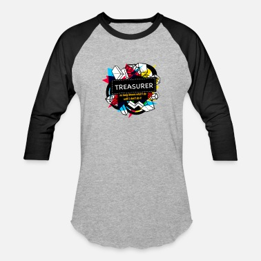Treasure TREASURER - Baseball T-Shirt