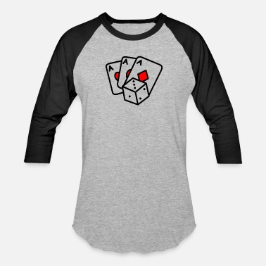 Religion Poker Poker Dice - Unisex Baseball T-Shirt