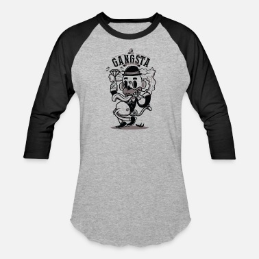 Gangsta Gangsta - Baseball T-Shirt