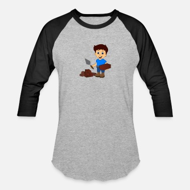 Bricky mason bricklayer brickie - Baseball T-Shirt