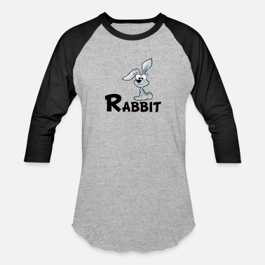 Cartoon Rabbit Cartoon Rabbit - Baseball T-Shirt