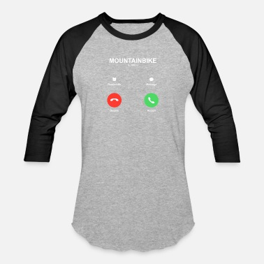 Decline IPhone call Accept Decline - Baseball T-Shirt