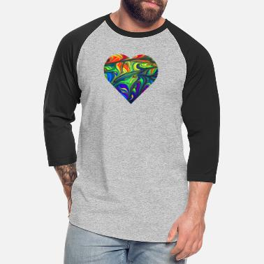 Big Heart big heart - Unisex Baseball T-Shirt