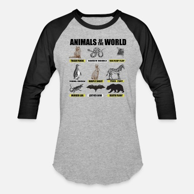Animal World Animals of the world - Unisex Baseball T-Shirt
