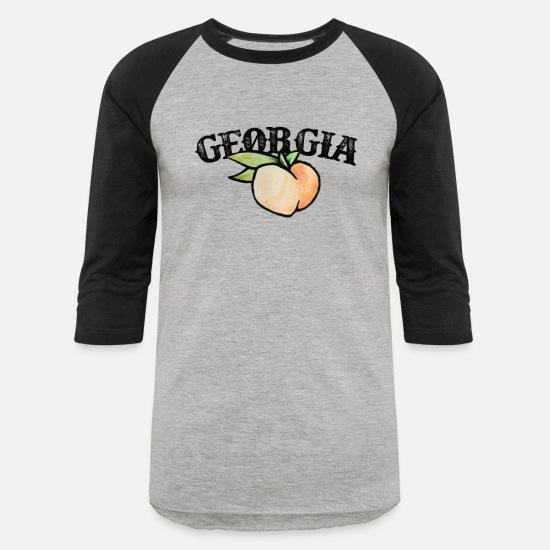 Georgia Peach Unisex Baseball T-Shirt | Spreadshirt