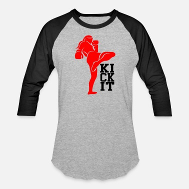 Kick kick it - Baseball T-Shirt