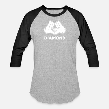 Mickey Hand mickey hands diamond - Baseball T-Shirt