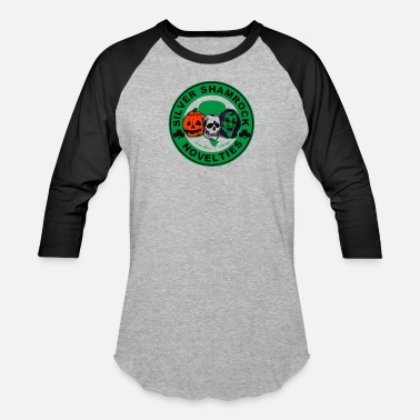 Siver Shamrock Novelties - Unisex Baseball T-Shirt