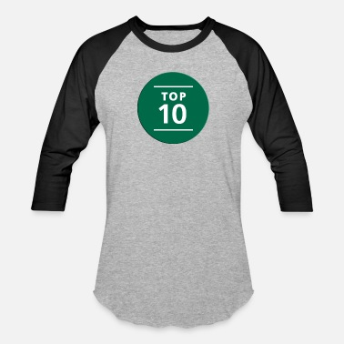 Tops Numbers TOP NUMBER TEEN - Unisex Baseball T-Shirt
