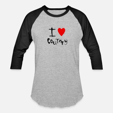 Country Love Country love - Baseball T-Shirt