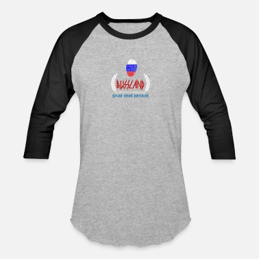 Rossija Russland - Loud and proud - Russia - Baseball T-Shirt