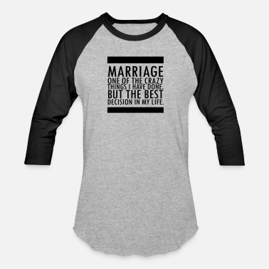Equality Marriage - Unisex Baseball T-Shirt