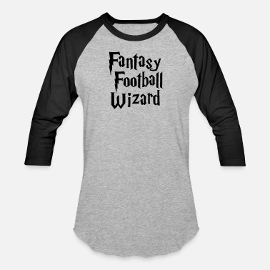 Fantasy Football Wizard New Design Fantasy Football Wizard Best Seller - Baseball T-Shirt