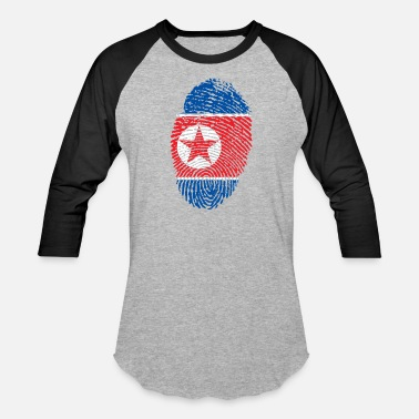 North Korea north korea - Unisex Baseball T-Shirt
