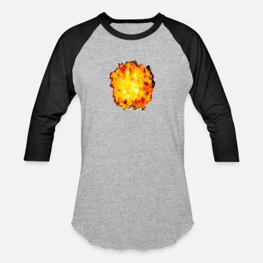 Explotion Fire ball explotion - Unisex Baseball T-Shirt