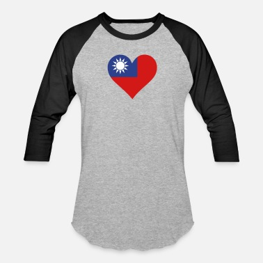 Hakka A Heart For Taiwan - Baseball T-Shirt