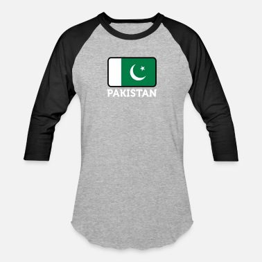 Pakistan Middle East National Flag Of Pakistan - Unisex Baseball T-Shirt